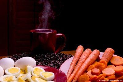 Er du som en gulrot, egg eller kaffe?