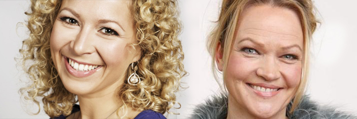 To inspirerende kvinner